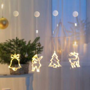 4er Set LED-Lichterkette