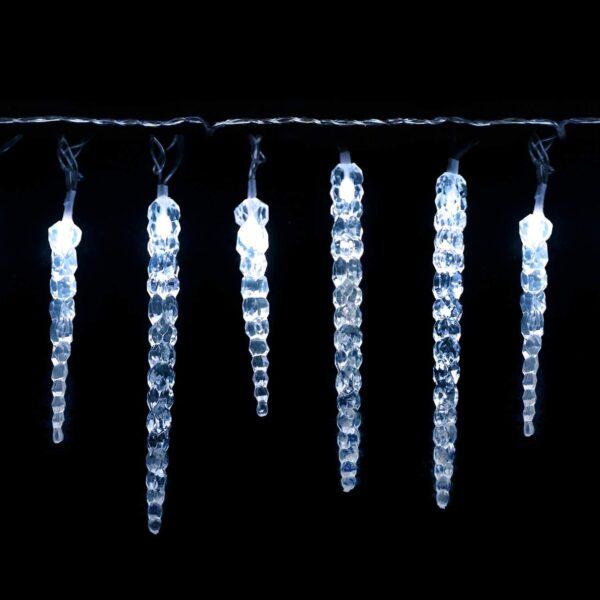 LED Eiszapfen Lichterkette